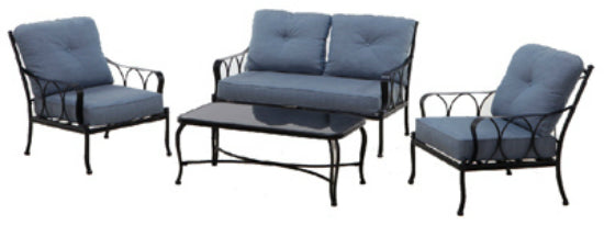 Four Seasons Courtyard 714-005-000 Lucia Deep Seating Set, 4-Piece