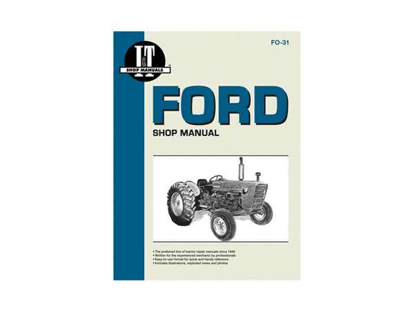Ford FO-31 Shop Manual