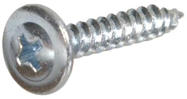Hillman Fasteners 47282 Truss Head Self-Piercing Point Lath Screw, 8 x 1-1/4""