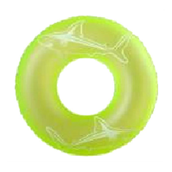 Polygroup® K10528000132 Glow-In-The-Dark Inflatable Swim Ring, 36""