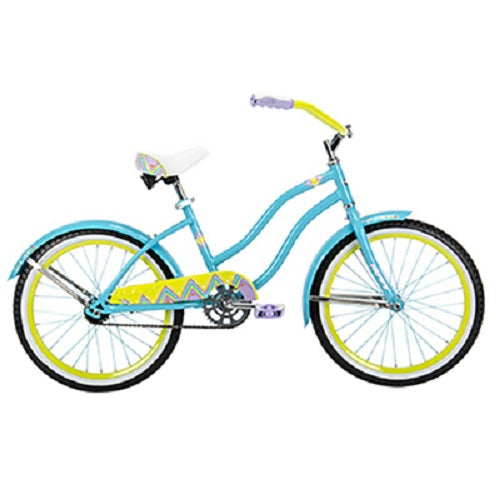 Huffy 23556 Good Vibrations Cruiser Bicycle for Girls, 20""