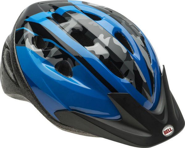Bell 7063277 Child Boys Rally Bike Helmet, Blue