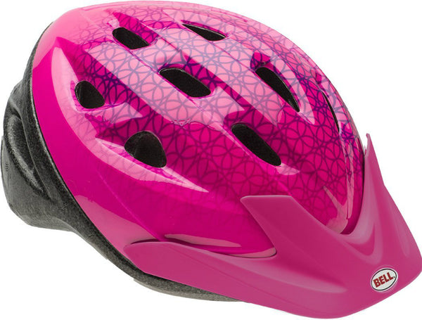 Bell 7063276 Child Girls Rally Bike Helmet, Pink