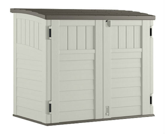 Suncast® BMS2500 Horizontal Storage Shed, 34 Cubic Feet