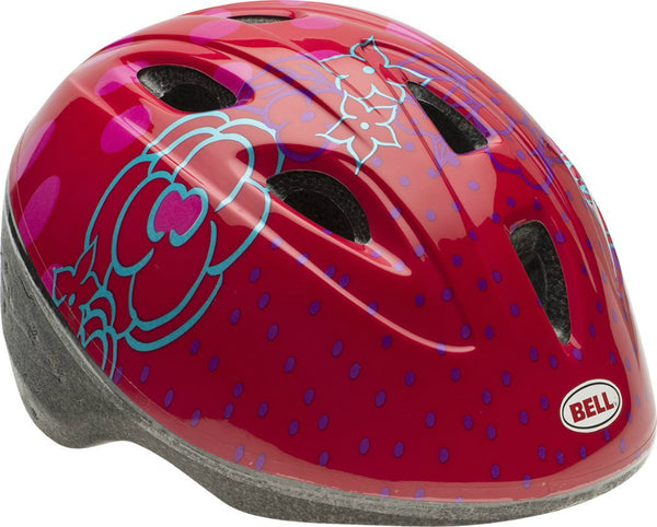 Bell 7063269 Toddler Girl's Zoomer Jump Helmet, Red
