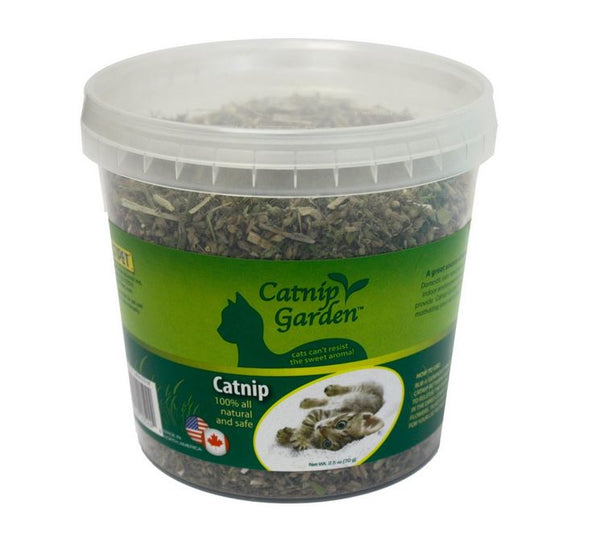 Multipet™ 20524 Catnip Garden™ All Natural Catnip, 2.5 Oz Tub