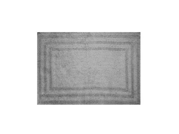 "Homewear Linens R0008-GRAY Luxury Track Rug, 100% Cotton, Gray, 21"" x 32"""
