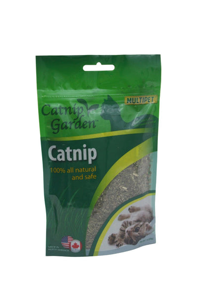 Multipet™ 20511 Catnip Garden™ All Natural Catnip, 1 Oz Gusseted Bag