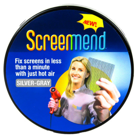 "ScreenMend 04679 Adhesive-Coated Screen Repair Roll, Silver, 2"" x 80"", 2-Pack"