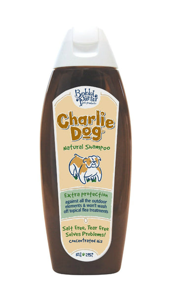 Bobbi Panter 00090 Charlie Dog Flea & Tick Shampoo, 10 Oz