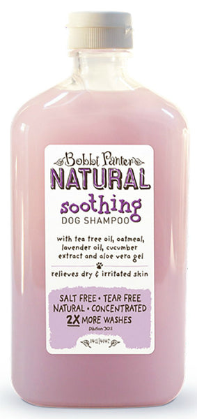 Bobbi Panter 00026 Natural Line Soothing Dog Shampoo, 14 Oz