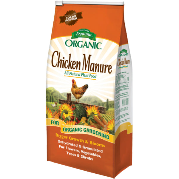 Espoma® GM25 Chicken Manure Organic All Natural Plant Food, 3-2-3, 25 Lbs