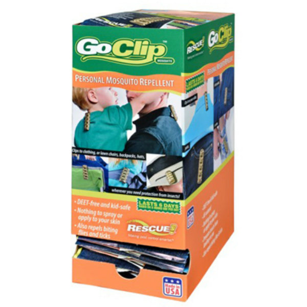 Rescue!® GC-M-DB24 Go Clip™ Personal Mosquito Repellent, Lasts 6 Days