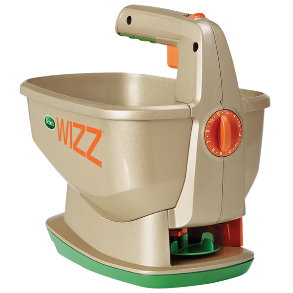 Scotts® 71131 Wizz™ Hand Held Spreader with 23-Spreader Settings