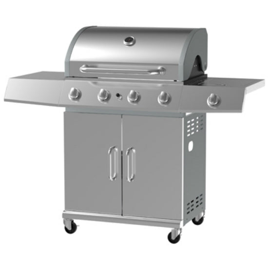 Grill Zone BG2724B Gas Grill with 4-Burner, 12000 BTU