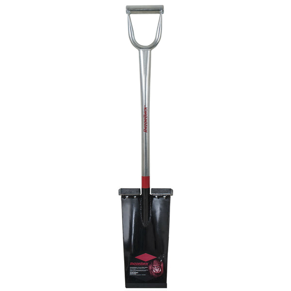 Razor-Back® 163105000 Industrial Spade with Steel Handle and D-Grip, 13""