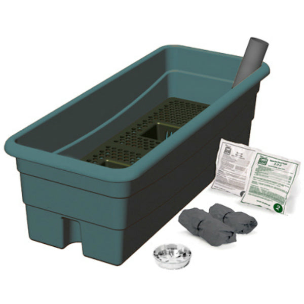 EarthBox® 80651 Junior™ Organic Ready-To-Grow Garden Kit, Green