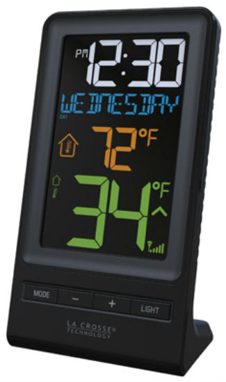 La Crosse Technology® 308-1415 Wireless Thermometer, Color Display