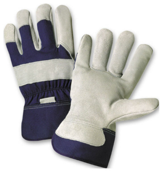 West Chester 91205/L Men's Split Cowhide Leather Palm Gloves, Large