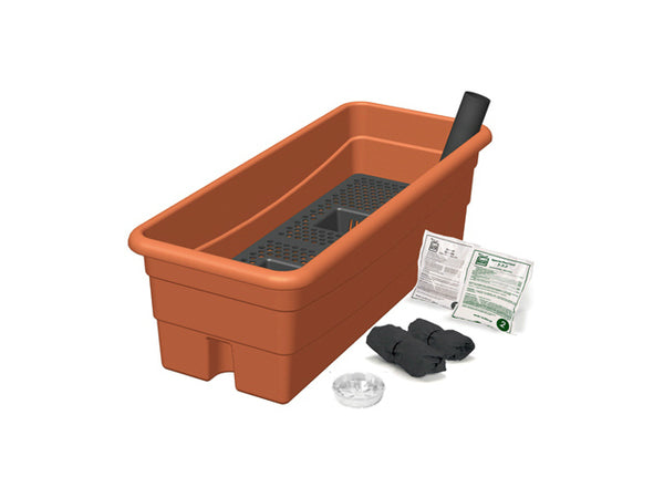 EarthBox® 80655 Junior™ Organic Ready-To-Grow Garden Kit, Terra Cotta