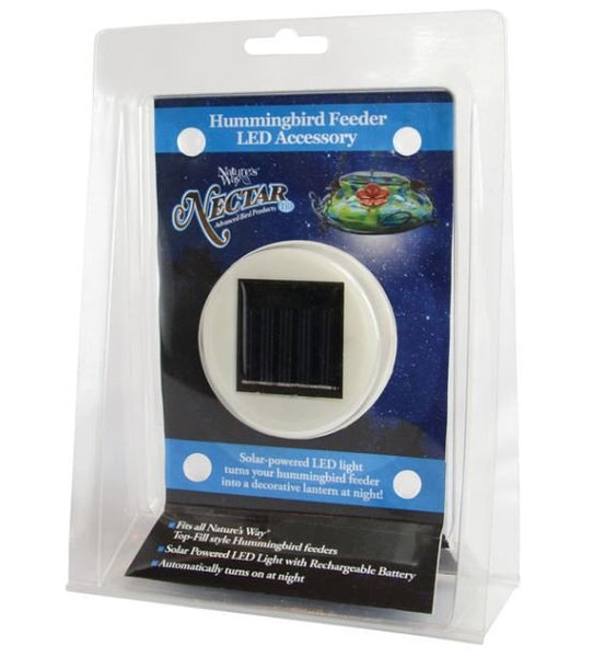 Nature's Way® LED1 Solar-Powered LED Light Accessory for Hummingbird Feeders