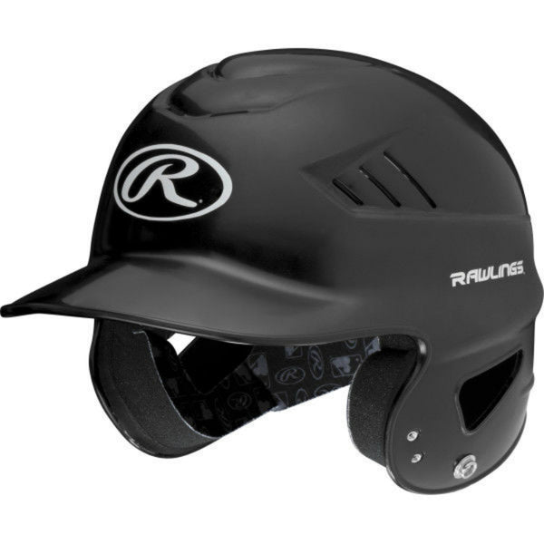 Rawlings® RCFH-B Coolflo High School/College Baseball Batting Helmet, Black