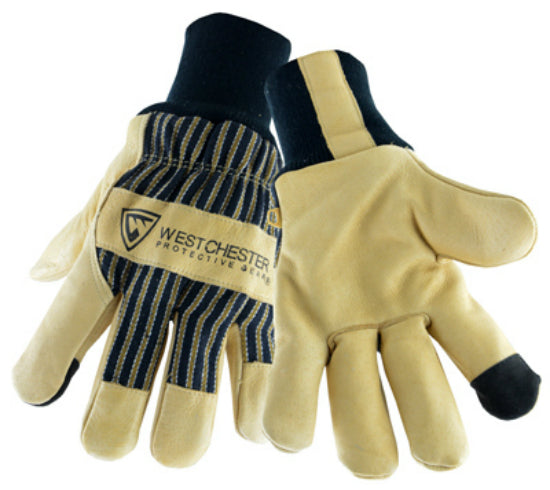 West Chester 97900/L Premium Grain Pigskin Leather Palm Gloves, Large