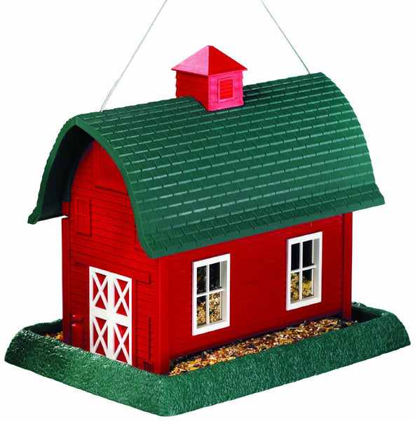 North States™ 9061 Red Barn Birdfeeder, Large