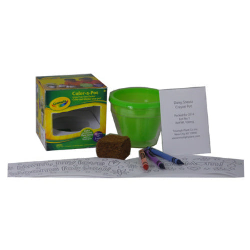 Crayola® 50154 Grow Coloring Planter & Complete Seed Starting Kit