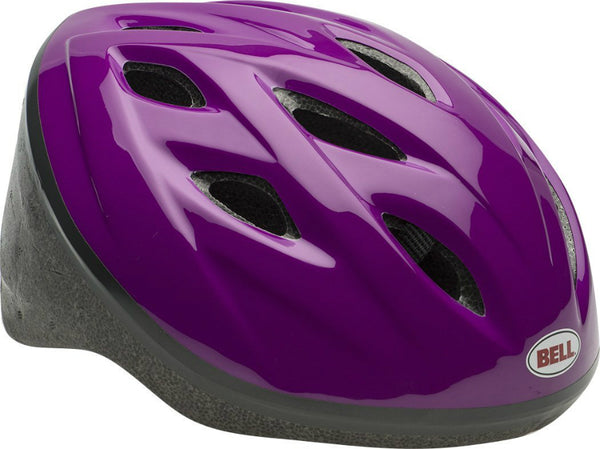Bell 7063275 Girls Star Bike Helmet with 11 Vents, Purple