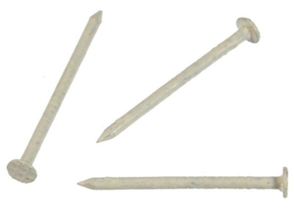 "Hillman Fasteners™ 461824 Stainless Steel Nails, Beige, 1.25"" x 15, 6 Oz"