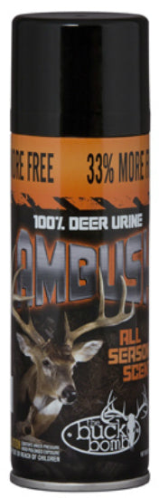 Buck Bomb™ MM-BB-AM-01 Ambush Year Round Attractant All Season Scent, 6.65 Oz