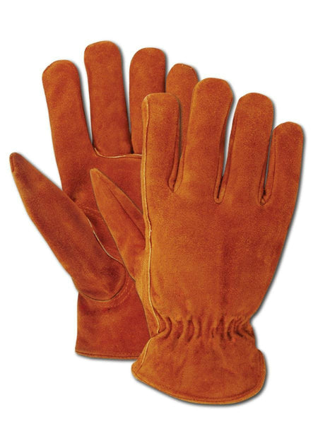 Magid® TB441ETL Men's Rich Suede Split Cowhide Driver Glove, Large