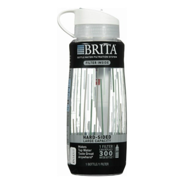 Brita® 35921 Hard-Sided Filter Inside Water Filtration System Bottle, 34 Oz