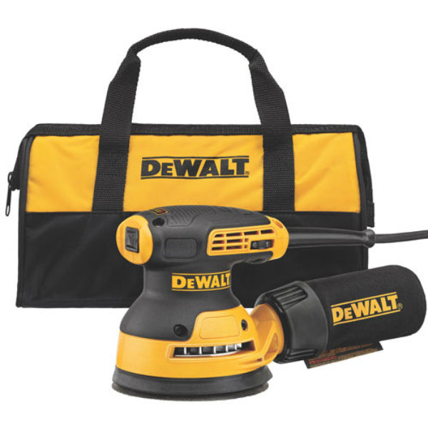 "DeWalt® DWE6423K Heavy Duty Random Orbit Sander/Variable Speed/H&L pad, 5"", 3A"