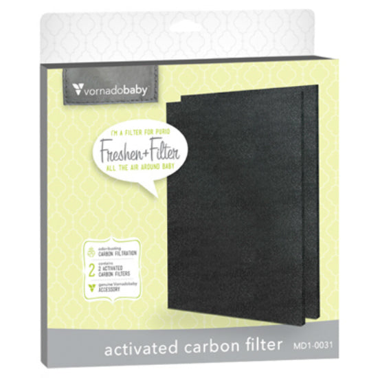 Vornadobaby MD1-0031 Purio Activated Carbon Filter, 2-Pack