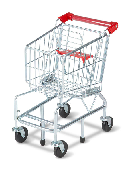 Melissa & Doug® 4071 Metal Shopping Cart for Kids, Age 3+