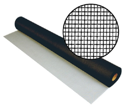 "Phifer 3003398 Fiberglass Pool & Patio Insect Screen, Charcoal, 72"" x 25'"