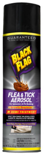 Black Flag® HG-11094 Aerosol Flea & Tick Spray, 16 Oz