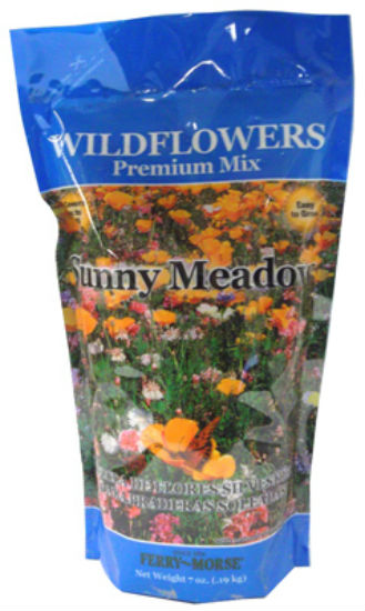 Ferry-Morse® WFSU18 Wildflower Premium Sunny Meadow Mix Seed, 1.3 Lbs