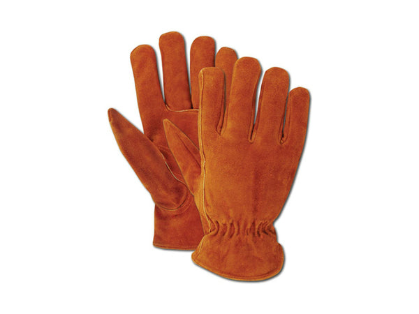 Magid TB441ETM Rich Suede Split Cowhide Driver Glove for Men's, Medium