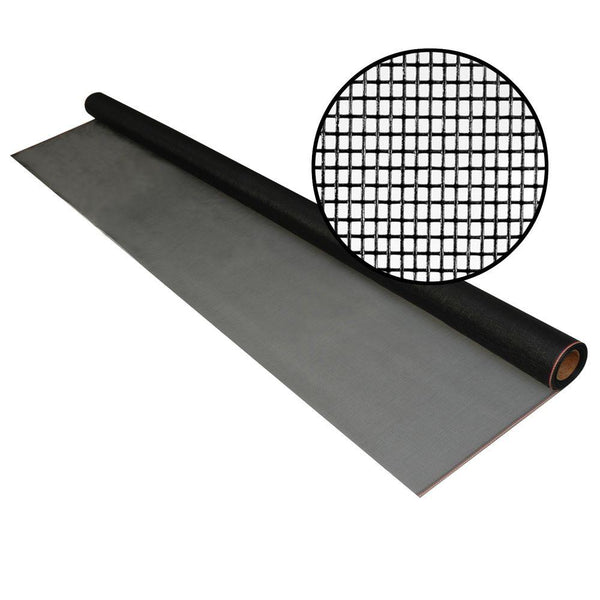 "Phifer 3003399 Fiberglass Pool & Patio Insect Screen, Charcoal, 84"" x 25'"