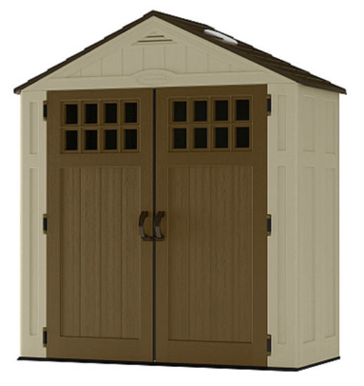 Suncast® BMS6310 Everett™ Vertical Storage Shed, 94 Cubic Feet