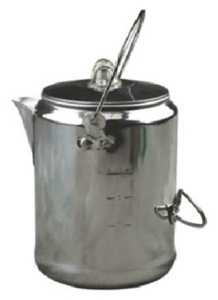 Coleman® 2000016428 Aluminum Coffee Percolator, 9-Cup