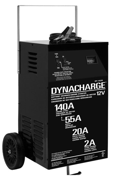 Schumacher® DY-1420 Manual Wheel Charger with Engine Start, 12V (2/20/55/140A)