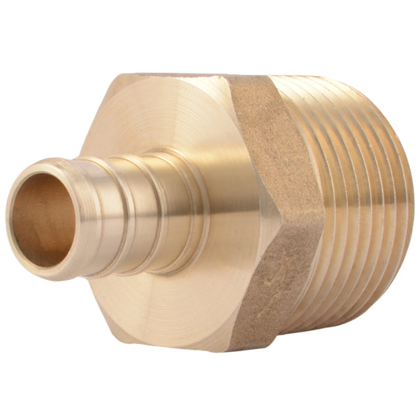 "SharkBite® UC116LFA Thread Male Adapter, 1/2"" x 3/4"" MNPT"