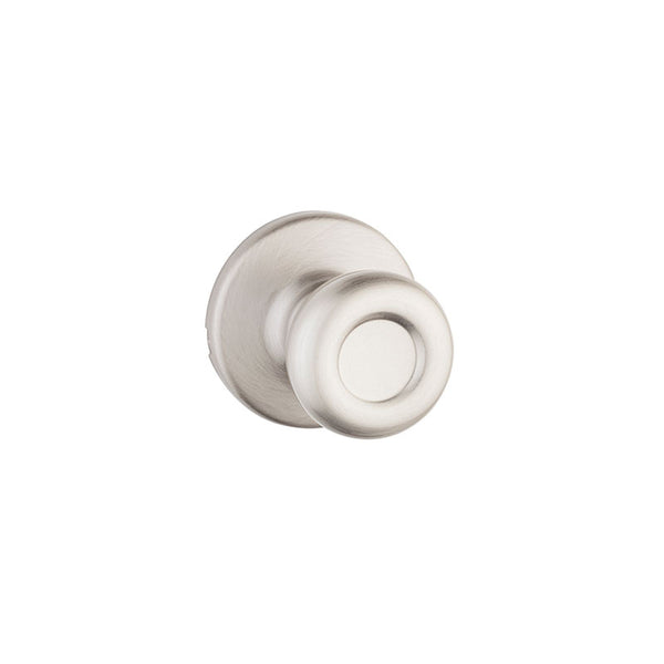 Kwikset® 200T-15-CP Security Tylo Hall/Closet Knob Passage Lockset, Satin Nickel