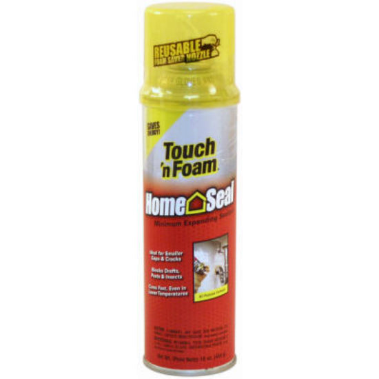 Touch 'n Foam® 4001011216 Home Seal™ Minimum Expanding Sealant, 16 Oz