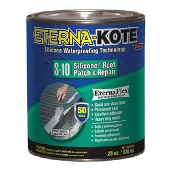 Eterna-Kote® 5575-1-02 Silicone+ S-10 Patch & Repair, 1 Qt, White
