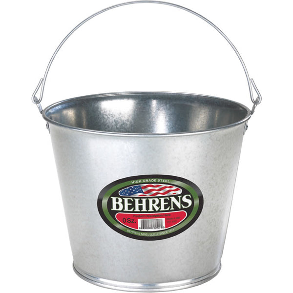 Behrens 1205GS Durable Galvanized Steel Pail, 5-Qt